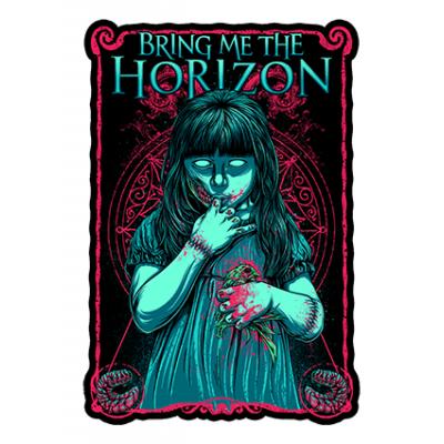 Наклейка Bring Me The Horizon