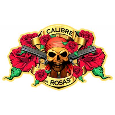 Наклейка Calibre De Rosas