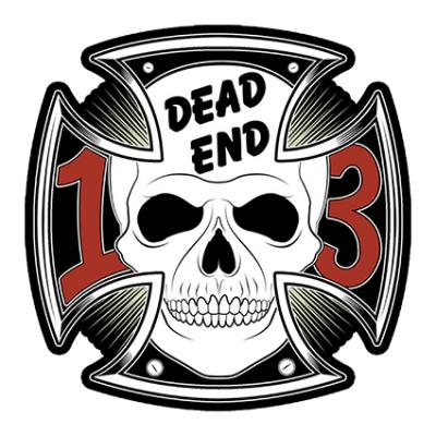 Наклейка Dead End