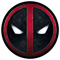 Наклейка Deadpool Logo