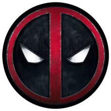 Наклейка Deadpool Logo
