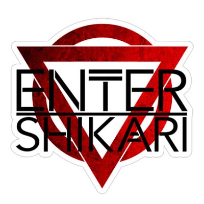 Наклейка Enter Shikari