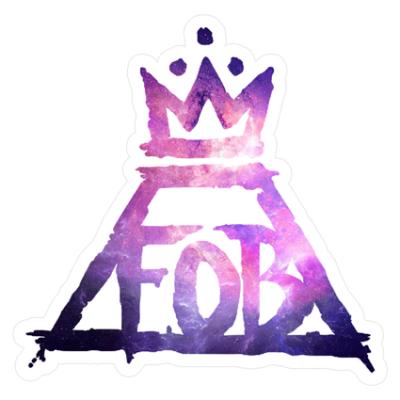 Наклейка Fall Out Boy