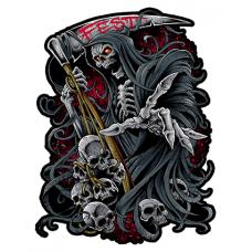 Наклейка Fest (Смерть с косой)