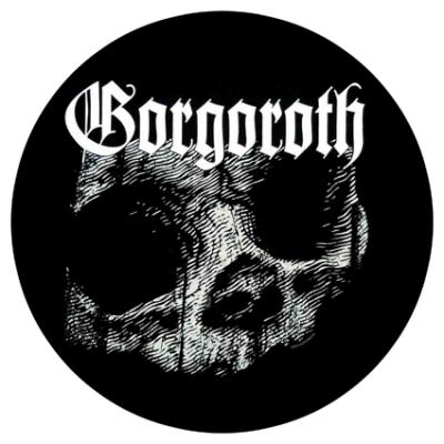 Наклейка Gorgoroth Skull
