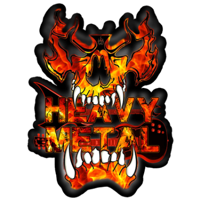 Наклейка Heavy Metal