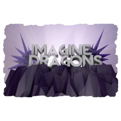 Наклейка Imagine Dragons