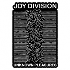 Наклейка Joy Division Unknown Pleasures