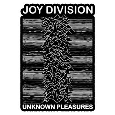 Наклейка Joy Division Unknown Pleasures