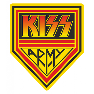 Наклейка Kiss Army