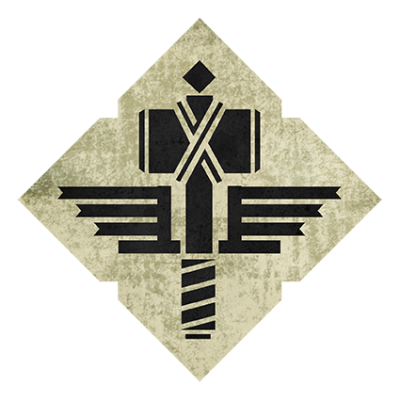 Наклейка Manowar Sign Of The Hammer