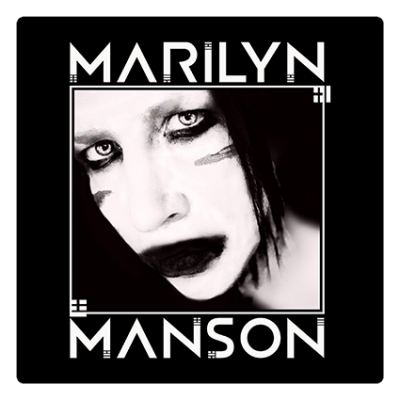 Наклейка Marilyn Manson