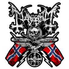 Наклейка Mayhem