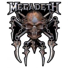 Наклейка Megadeth