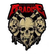 Наклейка Metal Hammer Paradise