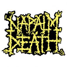 Наклейка Napalm Death