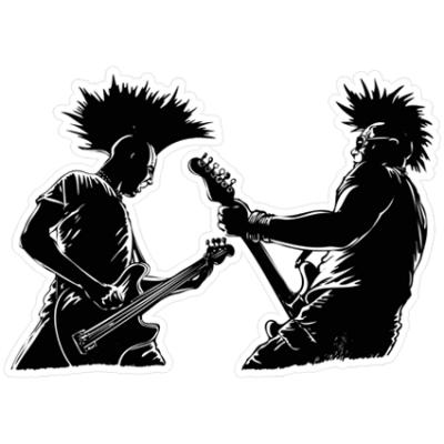 Наклейка Punk