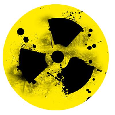 Наклейка Radiation (Радиация)