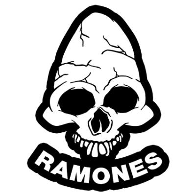 Наклейка Ramones