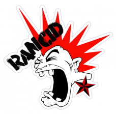 Наклейка Rancid