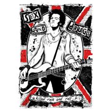 Наклейка Sex Pistols