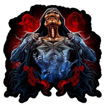 Наклейка Skull Rock