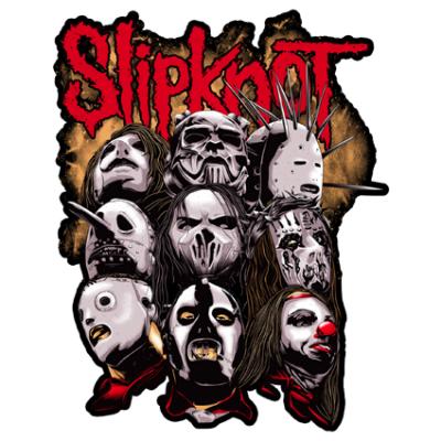 Наклейка Slipknot