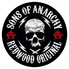 Наклейка Sons Of Anarchy