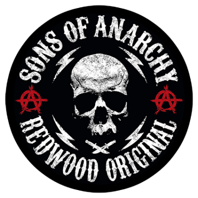 Наклейка Sons Of Anarchy