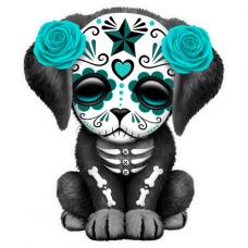 Наклейка Sugar Skull Dog