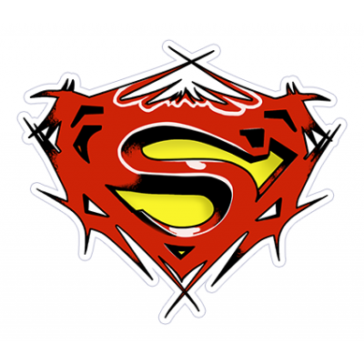 Наклейка Superman
