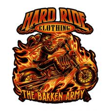 Наклейка Hard Ride