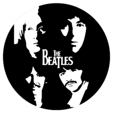 Наклейка The Beatles (Битлз)