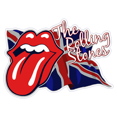Наклейка The Rolling Stones