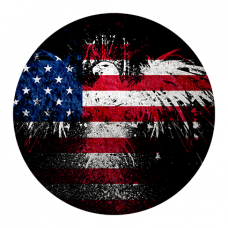 Наклейка USA Flag (Флаг США)
