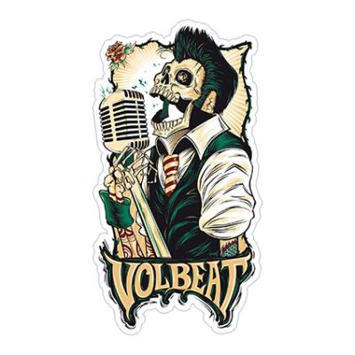 Наклейка Volbeat
