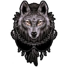 Наклейка Wolf (Волк)