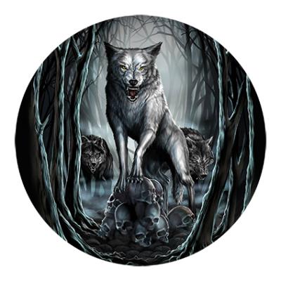Наклейка Wolf Skull