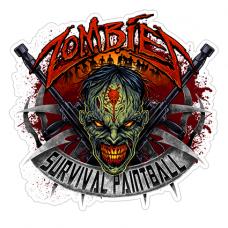 Наклейка Zombies (Зомби)